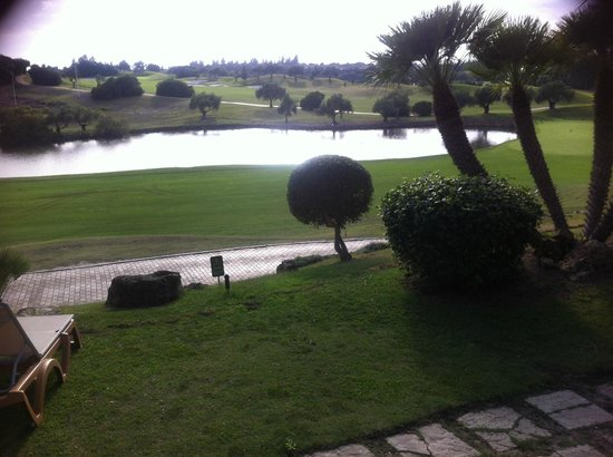 Barceló Montecastillo Golf: Looking out from the outside seating area