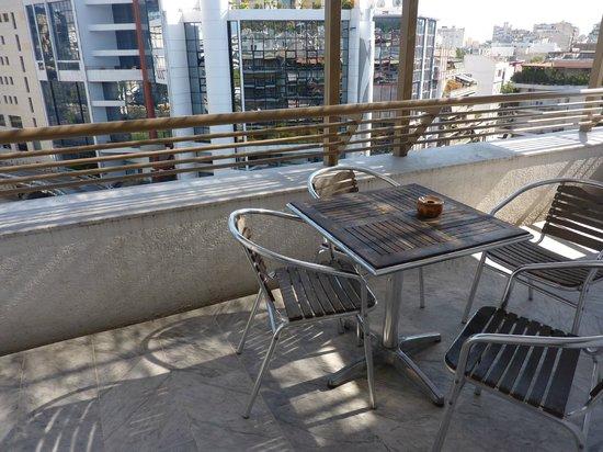 Ilissos Hotel: Balcony 6-th floor