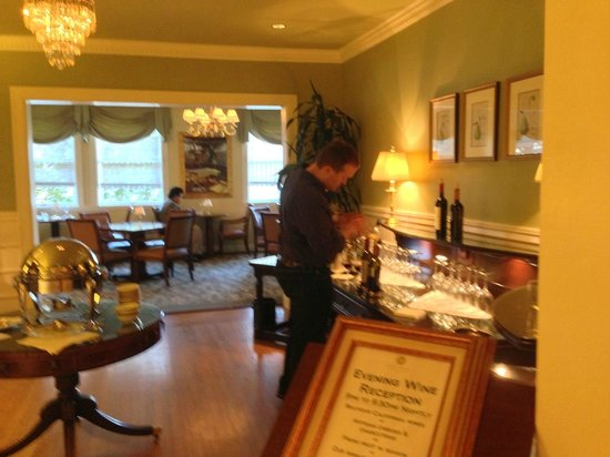 Hotel Drisco : Wine & Cheese Reception
