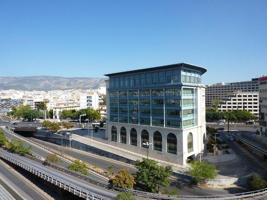 Ilissos Hotel: View from balcony