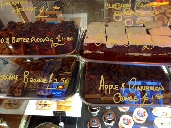 The Manna House Bakery and Patisserie: spoiled for choice