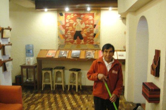 Hotel Rosario La Paz: Sala de Estar