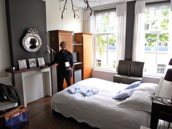 Vondel View B&B: The bedroom