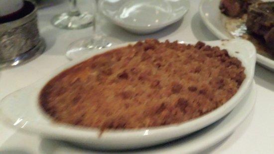 Ruth's Chris Steak House - Mohegan Sun at Pocono Downs: Sweet Potato Casserole