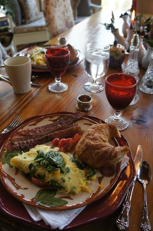 Hearthstone Lodge: Breakfast feast