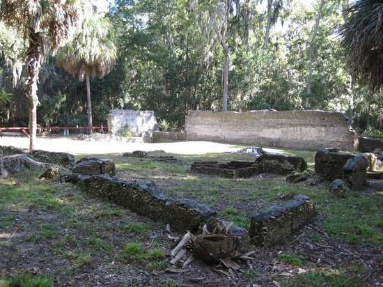 Wormsloe Historic Site : Ruins of 'Tabby House'