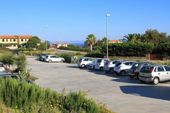 Cala Reale: Parkplatz