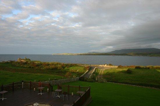 Castle Murray House Hotel & Restaurant: Blick auf die Bucht am Morgen