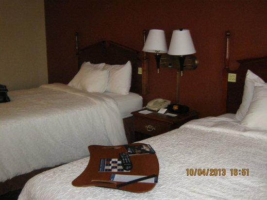 Hampton Inn Birch Run/Frankenmuth: two doubles