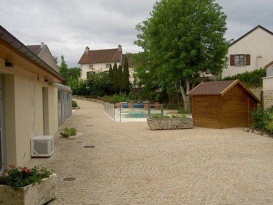 Hotel de la Poste: pool