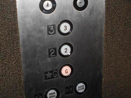 Sturbridge Host Hotel & Conference Center: OK, quick -- which button for room number 400? This is simply thoughtless management.