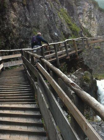 Silberkarklamm: Many more steps