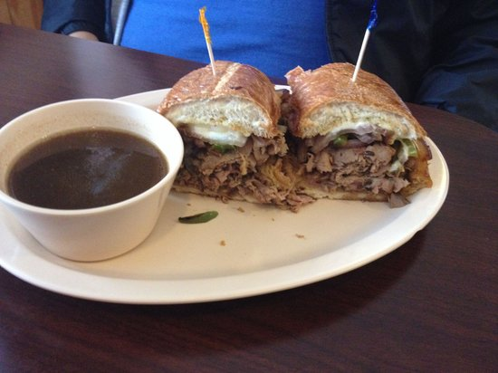 Pop's Family Restaurant: Philly steak sandwich