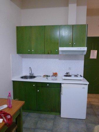 Hotel Romantica: kitchenette area
