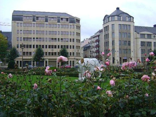 Place des Martyrs : Plaza de los Mártires, Ciudad de Luxemburgo, Luxemburgo.