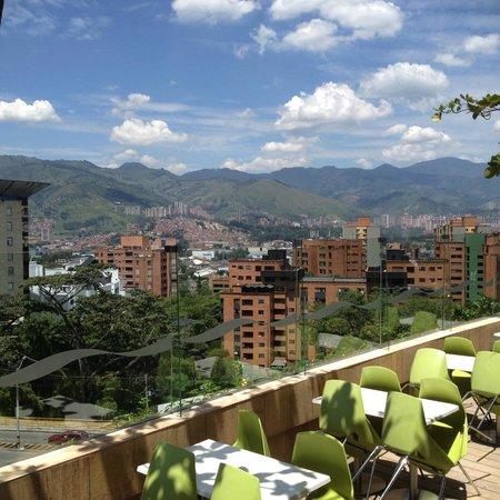 Art Hotel Boutique: vista de Medellín