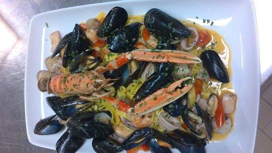 Primi piatti di pesce picture of osteria dei sapori for Cucina primi piatti di pesce