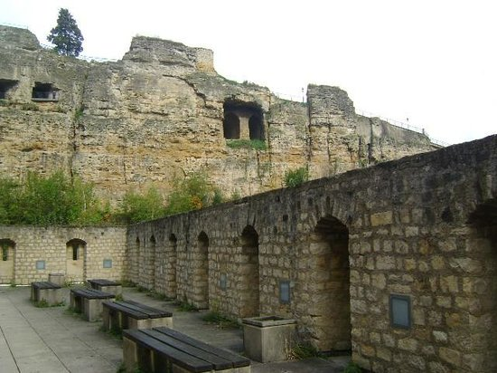 Citadel of the Holy Spirit (Citadelle du St-Esprit) : Ciudadela de Espíritu Santo, Ciudad de Luxemburgo, Luxemburgo.