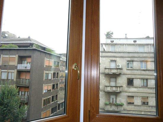 Marconi Hotel: Veduta dalla mia camera