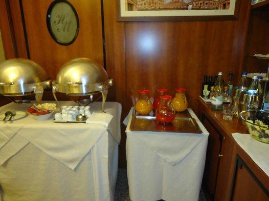 Marconi Hotel: La colazione
