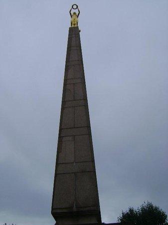 Monument de la Solidarite Nationale (Monument to National Unity) : Monumento de la Solidaridad Nacional, Ciudad de Luxemburgo, Luxemburgo.