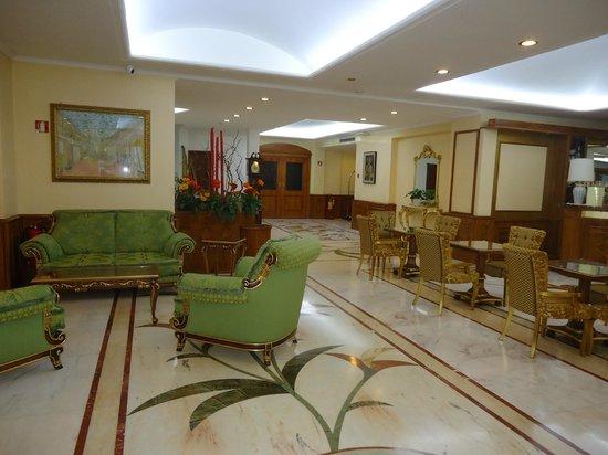 Marconi Hotel: La hall