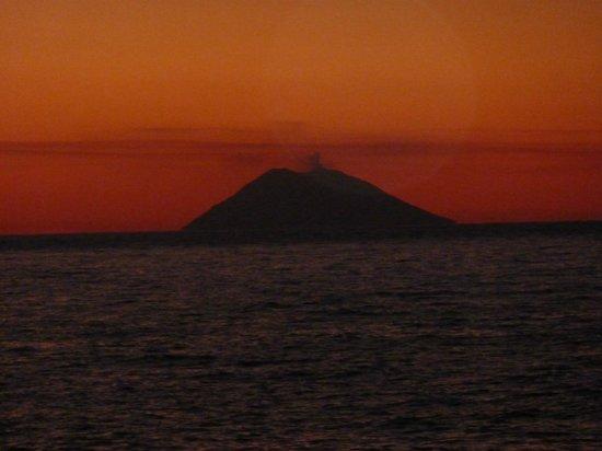 Villaggio Rocca di Vadaro: tramonto visto dal terrazzo del ristorante
