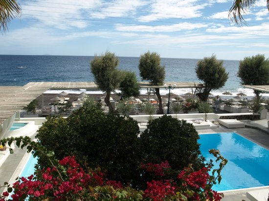 Bellonias Villas: view from our room