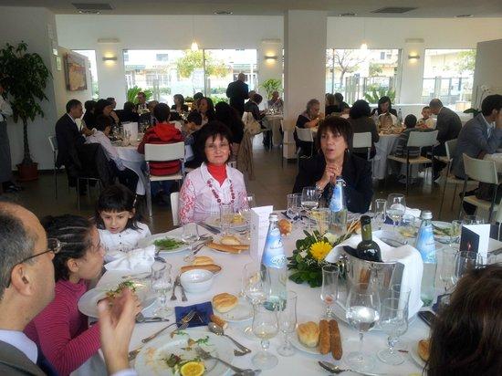 Hotel Villa D'Amato: La sala ristorazione
