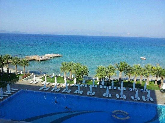 Boyalik Beach Hotel & Spa Cesme: Manzara