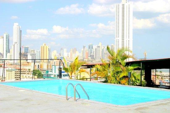 Caribe Hotel: Vista desde Area Social