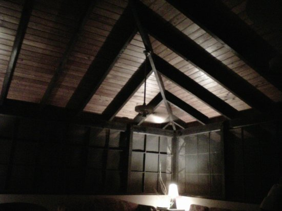 Northside Valley : Mahogany rafters in great room