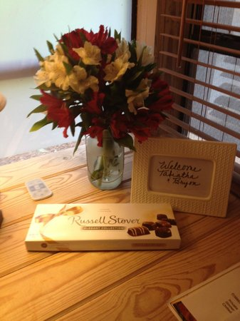Bartee Meadow Bed and Breakfast: Lovely touches!!!