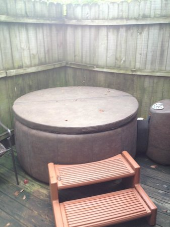 Bartee Meadow Bed and Breakfast: Hot Tub