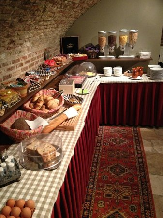 Hotel Malleberg: Breakfast buffet