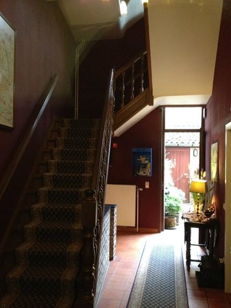 Hotel Malleberg : Staircase from the entrance