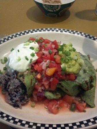 Good News Cafe : Black Bean Burrito