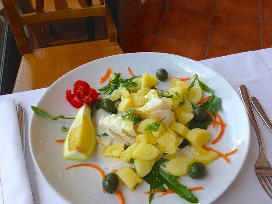 Terramia : stoccafisso con patate ....delizioso!!