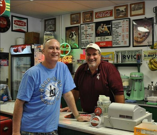 Me and Soda Pops owner, Paul Crawley
