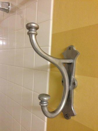Portola Hotel & Spa at Monterey Bay: Bathroom Hook