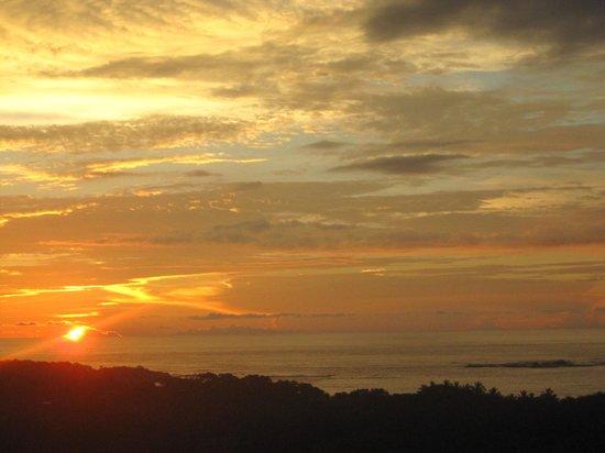 Sunset ontop of Casa Bambora!!