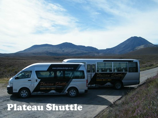 Plateau Lodge: Tongariro Crossing shuttles