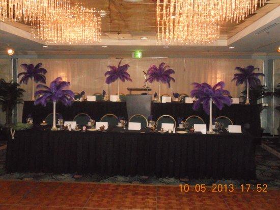 Princess Royale Resort: Head Table