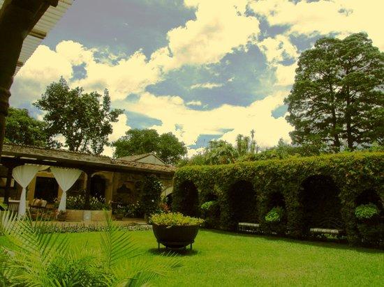 Casa Santa Rosa Hotel Boutique: Amplios jardines.