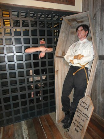 The Buckhorn Saloon and Texas Ranger Museum: Jail in Museum