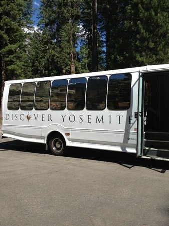 Discover Yosemite: Our Tour Bus!