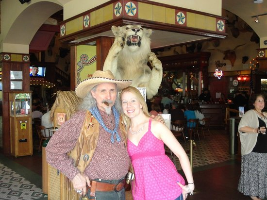 The Buckhorn Saloon and Texas Ranger Museum: This guy rocks!