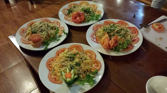 Sapa Unique Hotel: Free cooking class for guests of the hotel!