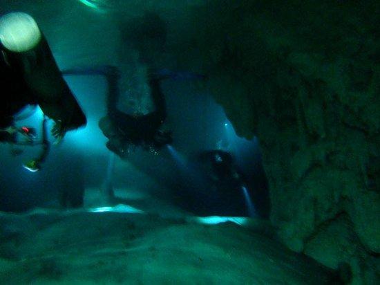 Xibalba Hotel: Mergulho em cenotes com Xibalba Dive Center