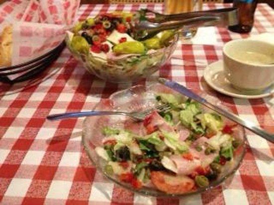 Aurelio's Pizza: This was a small Antipasta Salad